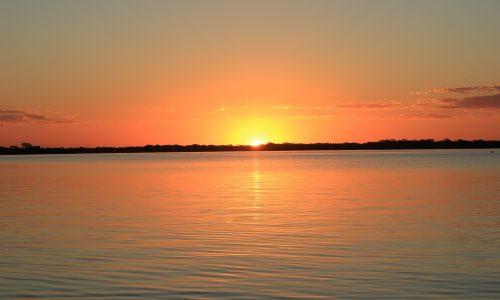 Pantanal's sunset